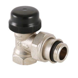 Клапан термостатический Valtec угловой с преднастройкой (VT.037.N)