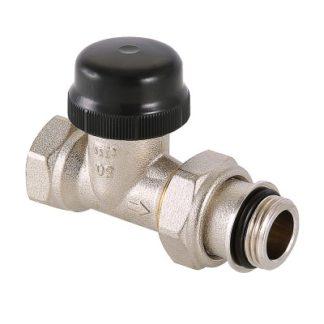 Клапан термостатический Valtec прямой с преднастройкой (VT.038.N)