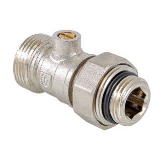 Кран для нижнего подключения радиатора Valtec (VT.345R.N)