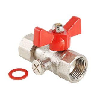 Кран шаровой Valtec для подключения манометра (VT.807.N)
