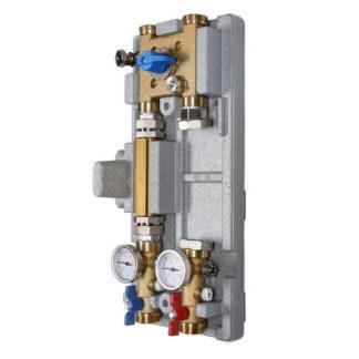 Насосный модуль Valtec с байпасом и четырехходовым клапаном (VT.VAR21.G)