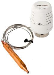Термостатическая головка Valtec с выносным погружным датчиком (VT.5011.0) купить оптом и в розницу. Низкие цены и высокое качество. Удобная доставка.
