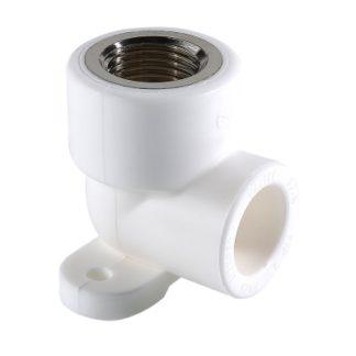 Фитинг полипропиленовый – водорозетка с внутренней резьбой Valtec (VTp.754.0)