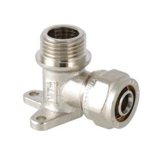 Фитинг обжимной – водорозетка Valtec с наружной резьбой (VTm.355.N)