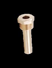 """Трубка для установки термометра 1/2""""x10 (0551.010)"""