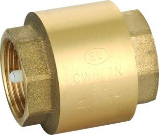 Клапан обратный c пластиковым золотником Euros (EU.ST4001)