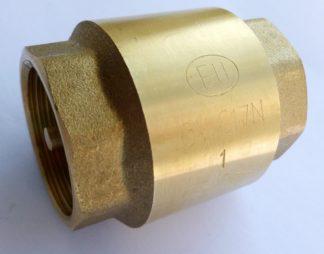 Клапан обратный с латунным золотником Euros (EU.ST4056)