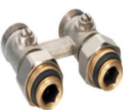 Узел универсальный для нижнего подключения радиаторов прямой Euros (EU.ST6015)