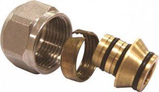 Соединитель обжимной коллекторный для металлополимерной трубы Euros (EU.ST32730)