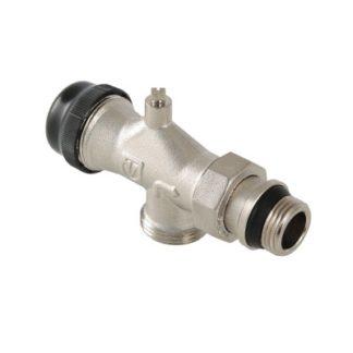 Клапан термостатический угловой с осевым управлением Valtec