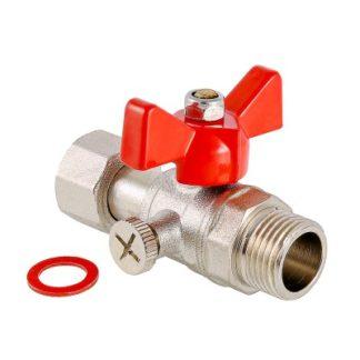 Кран шаровой Valtec для подключения манометра с наружной резьбой (VT.806.N)