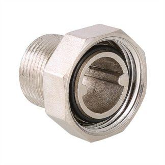 Фитинг резьбовой – полусгон с накидной гайкой Valtec (VTr.015.N)