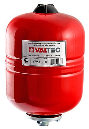 Баки и гидроаккумуляторы Valtec