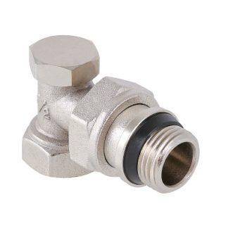Клапан настроечный угловой с дополнительным уплотнением Valtec (VT.019.NR)