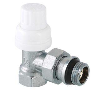 Клапан термостатический угловой с дополнительным уплотнением Valtec (VT.031.NR)