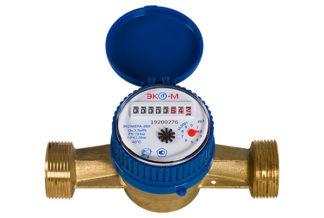 Счетчик воды Экомера-25 Холодный Одноструйный